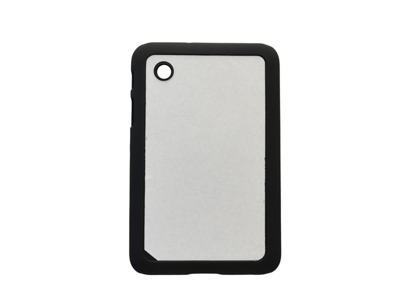 Samsung Galaxy Tab P3100 fekete műanyag tok szublimáláshoz, préseléshez