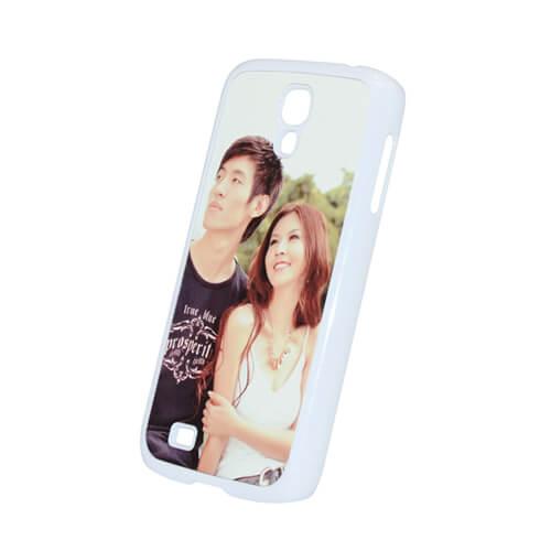 Samsung Galaxy S4 fehér műanyag tok szublimáláshoz, préseléshez