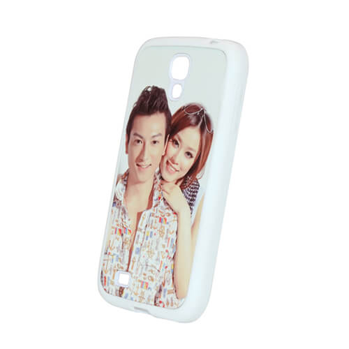 Samsung Galaxy S4 fehér gumi tok szublimáláshoz, préseléshez