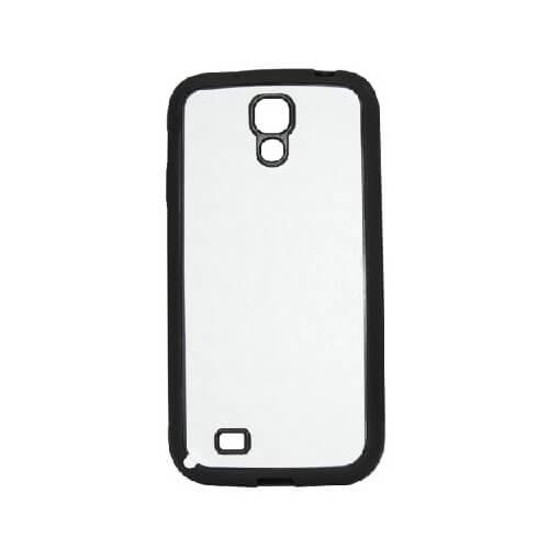 Samsung Galaxy S4 fekete gumi tok szublimáláshoz, préseléshez