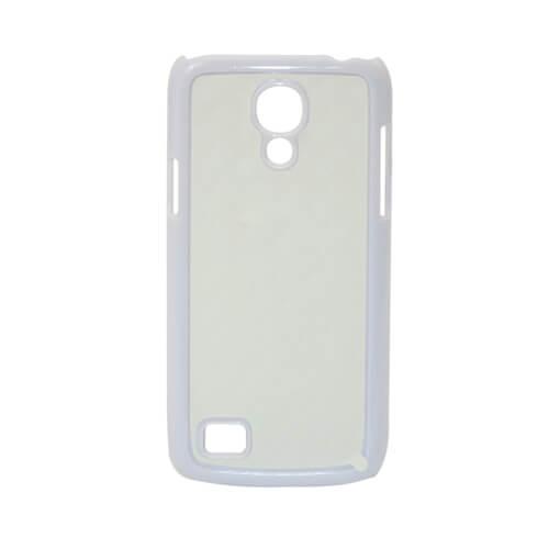 Samsung Galaxy S4 Mini fehér műanyag tok szublimáláshoz, préseléshez