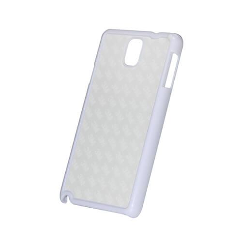 Samsung Galaxy Note 3 fehér műanyag tok szublimáláshoz, préseléshez