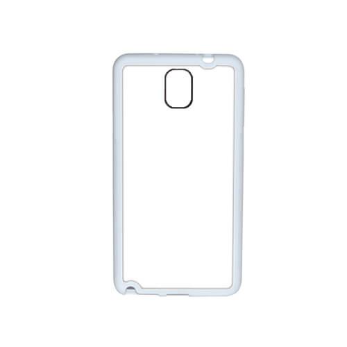 Samsung Galaxy Note 3 fehér gumi tok szublimáláshoz, préseléshez