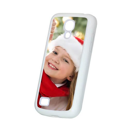 Samsung Galaxy S4 Mini fehér gumi tok szublimáláshoz, préseléshez