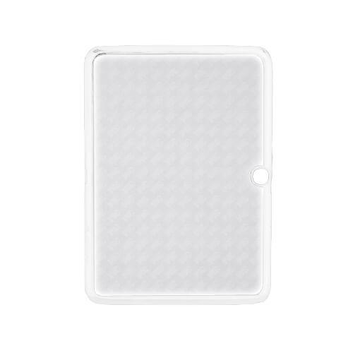 Samsung Galaxy Tab P5200 fehér műanyag tok szublimáláshoz, préseléshez