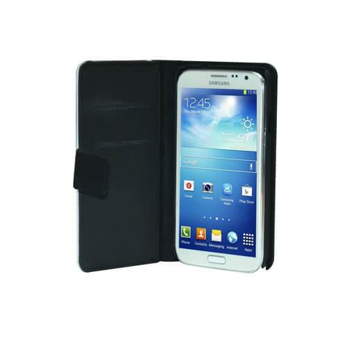 Samsung Galaxy Note 3 fekete eco bőrtok szublimáláshoz, préseléshez