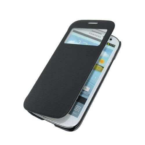 Samsung Galaxy S4 i9500 fekete felnyitható tok szublimáláshoz, préseléshez