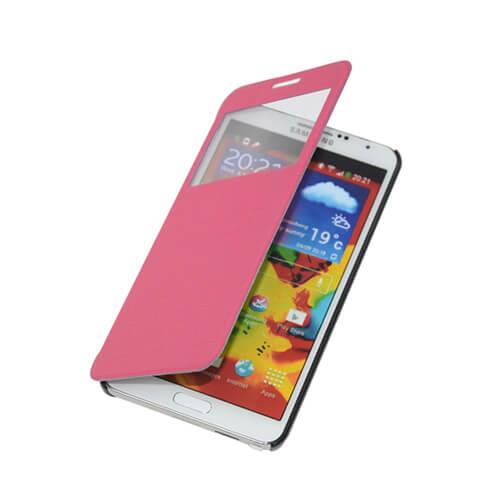 Samsung Galaxy Note 3 rózsaszín felnyitható tok szublimáláshoz, préseléshez