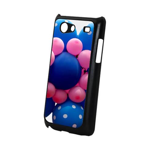 Samsung Galaxy S Advance i9070 fekete műanyag tok szublimáláshoz, préseléshez