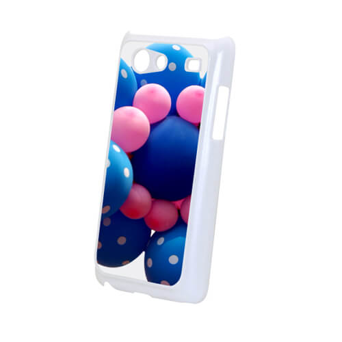 Samsung Galaxy S Advance i9070 fehér műanyag tok szublimáláshoz, préseléshez