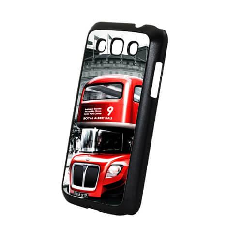 Samsung Galaxy Win i8552 fekete műanyag tok szublimáláshoz, préseléshez
