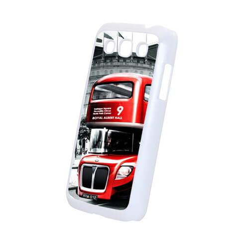 Samsung Galaxy Win i8552 fehér műanyag tok szublimáláshoz, préseléshez