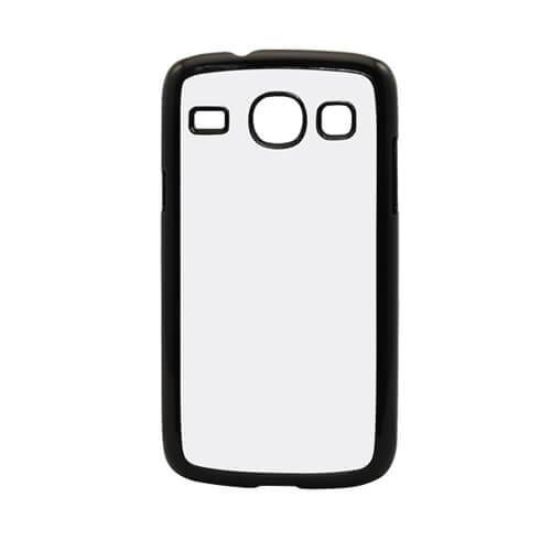Samsung Galaxy Core I8262 fekete műanyag tok szublimáláshoz, préseléshez