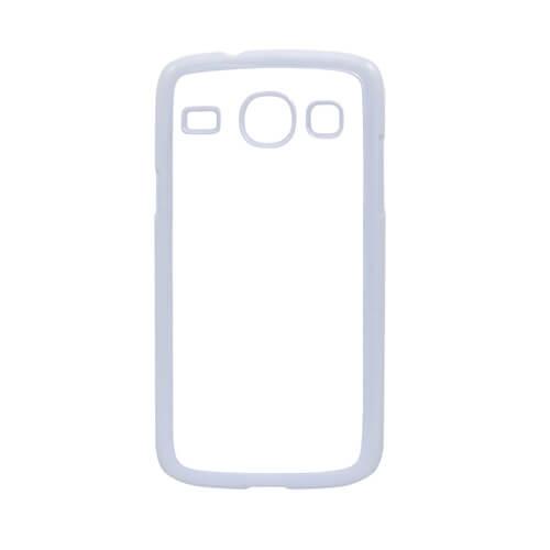 Samsung Galaxy Core I8262 fehér műanyag tok szublimáláshoz, préseléshez