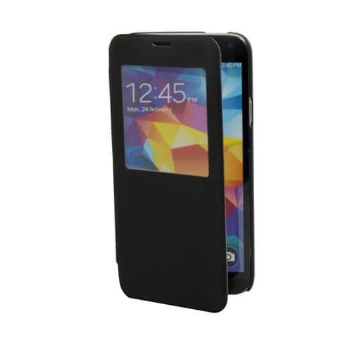 Samsung Galaxy S5 i9600 felnyitható fekete tok szublimáláshoz, préseléshez