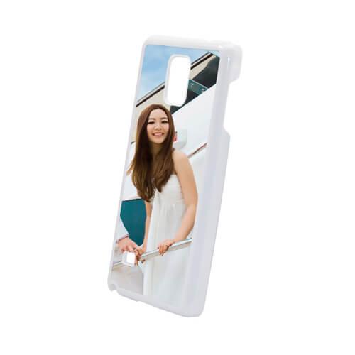 Samsung Galaxy Note 4 fehér műanyag tok szublimáláshoz, préseléshez