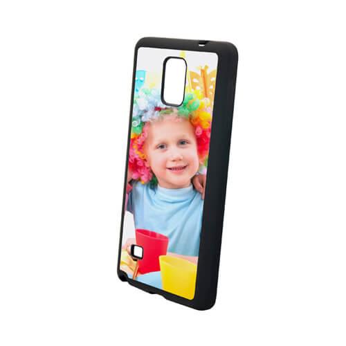 Samsung Galaxy Note 4 fekete gumi tok szublimáláshoz, préseléshez