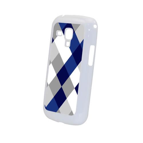 Samsung Galaxy Trend Duos S7562i fehér műanyag tok szublimáláshoz, préseléshez