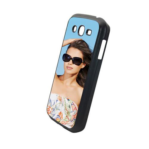 Samsung Galaxy Grand I9082 fekete műanyag tok szublimáláshoz, préseléshez