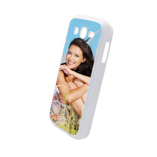 Samsung Galaxy Grand i9082 fehér műanyag tok szublimáláshoz, préseléshez