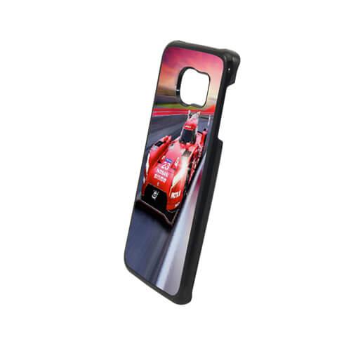 Samsung Galaxy S6 Edge fekete műanyag tok szublimáláshoz, préseléshez
