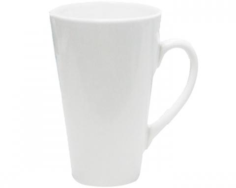 Nagy JS Coating latte bögre, fehér, szublimáláshoz, préseléshez