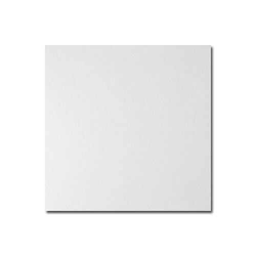 15 x 15 cm-es szupermatt fehér kerámia lap szublimáláshoz, préseléshez