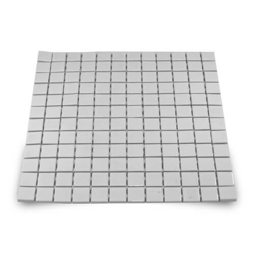 2,3 x 2,3 cm-es fényes kerámia mozaik - 144 darabos, szublimáláshoz, préseléshez