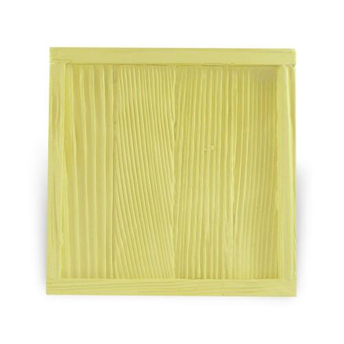 Fa és gipsz keret 10 x 10 cm-es csempére, SUBT30, szublimáláshoz, préseléshez