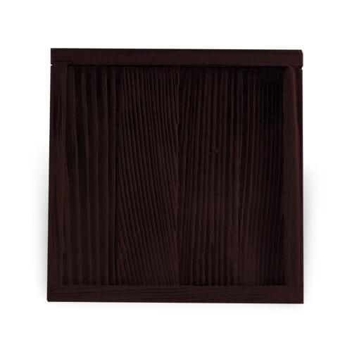 Fa és gipsz keret 10 x 10 cm-es csempére, SUBT43, szublimáláshoz, préseléshez