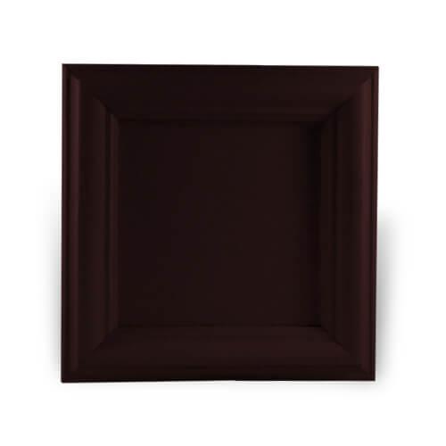 Fa és gipsz keret 10 x 10 cm-es csempére, SUBT45, szublimáláshoz, préseléshez
