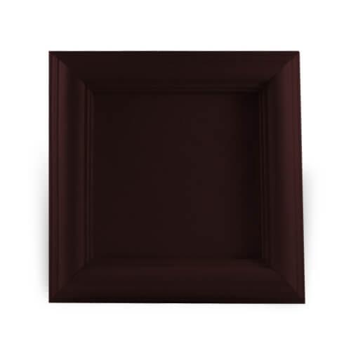 Fa és gipsz keret 10 x 10 cm-es csempére, SUBT46, szublimáláshoz, préseléshez