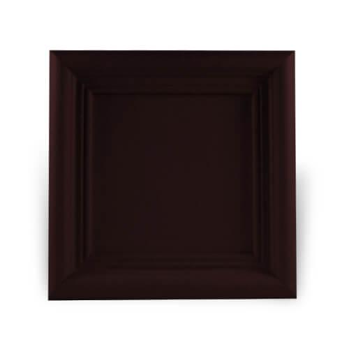 Fa és gipsz keret 10 x 10 cm-es csempére, SUBT47, szublimáláshoz, préseléshez