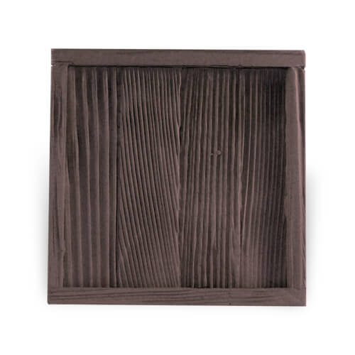 Fa és gipsz keret 10 x 10 cm-es csempére, SUBT48, szublimáláshoz, préseléshez