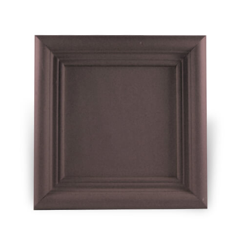 Fa és gipsz keret 10 x 10 cm-es csempére, SUBT52, szublimáláshoz, préseléshez