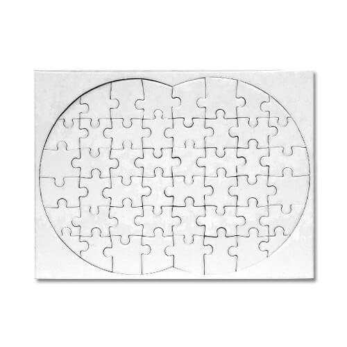 """20 x 28 cm-es, 48 darabos """"nyolcas alakú"""" puzzle szublimáláshoz, préseléshez"""