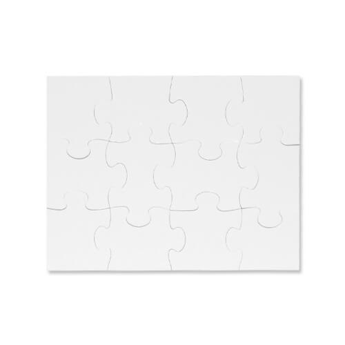 28 x 20 cm-es, 12 darabos gyerek puzzle szublimáláshoz, préseléshez