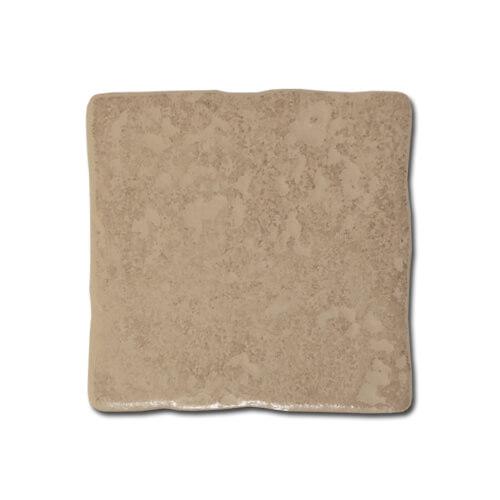 10 x 10 cm-es fényes barna vésett kerámia lap szublimáláshoz, préseléshez