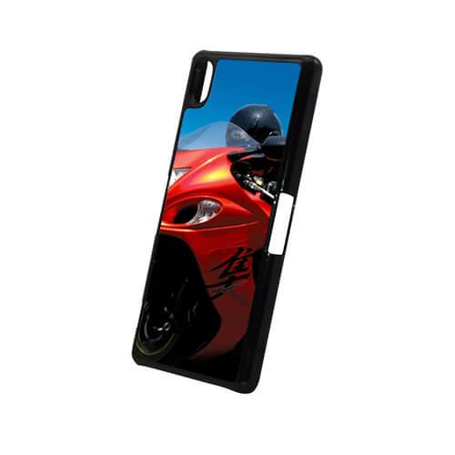 Sony Xperia Z2 L50W fekete műanyag tok szublimáláshoz, préseléshez