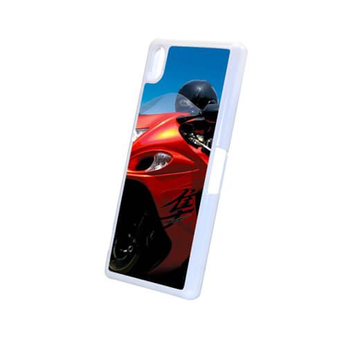 Sony Xperia Z2 L50W fehér műanyag tok szublimáláshoz, préseléshez