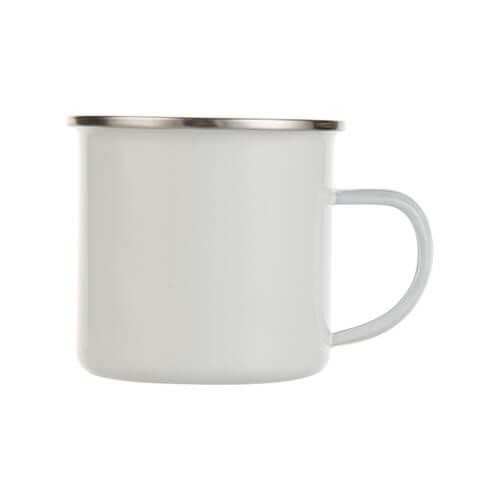 300 ml-es fém csésze szublimációs nyomtatáshoz - fehér