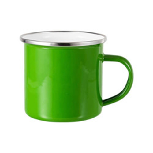 Szublimálható 360 ml-es acél bögre - zöld