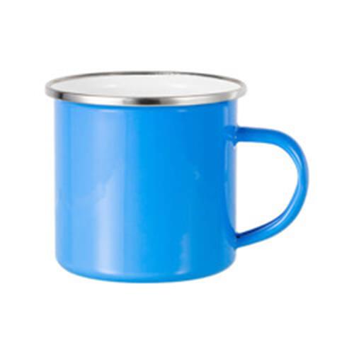 Szublimálható 360 ml-es acél bögre - világos kék