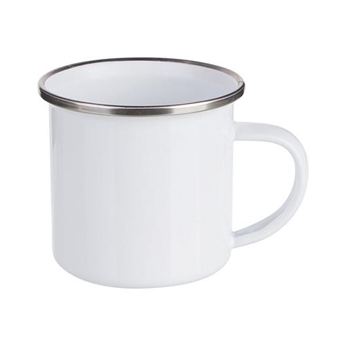 Szublimálható 180 ml-es fémpohár - fehér