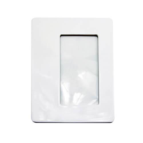 20 x 18 cm-es szögletes kerámia keret szublimáláshoz, préseléshez