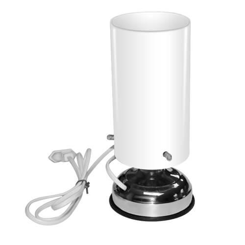 Állólámpa üveg lámpabúrával, szublimáláshoz, préseléshez