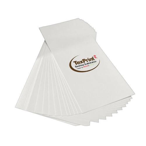 Szublimációs papír, TexPrint-R, 10x24 cm-es csomag (110 lap) szublimáláshoz, préseléshez