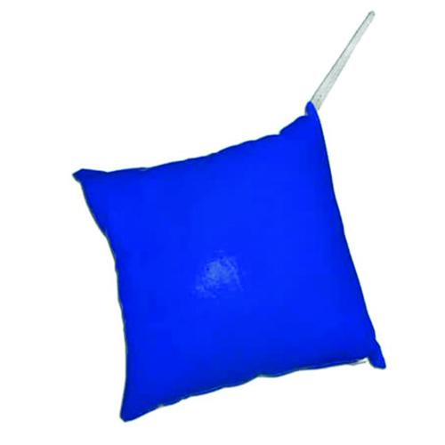 Szublimálható 15 x 15 cm-es mini huzat - akasztóval - kék