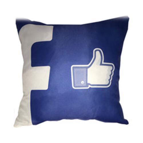 Szublimálható 38 x 38 cm profilkép szatén párnahuzat - Facebook