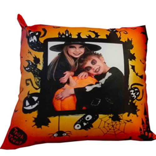 Szublimálható 38 x 38 cm szaténnal bevont párnahuzat - Halloween